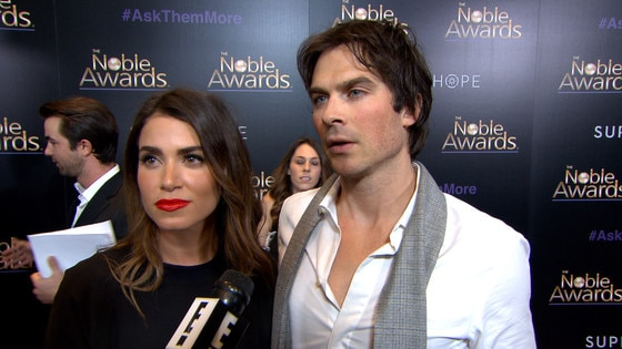 Nikki Reed and Ian Somerhalder on Their Love for Animals