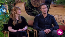 The Hype: Bryce Dallas Howard & Chris Pratt Fan Girl Over Jeff Goldblum