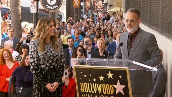 Tom Hanks Chokes Up Honoring Family In Cecil B. DeMille Award Speech