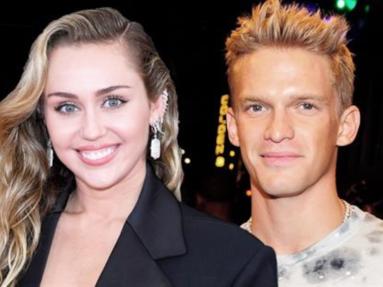 Miley Cyrus' Sweet Anniversary Tribute From Cody Simpson