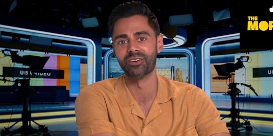 """Hasan Minhaj Channels Andy Cohen in """"The Morning Show"""" - E! Online.jpg"""