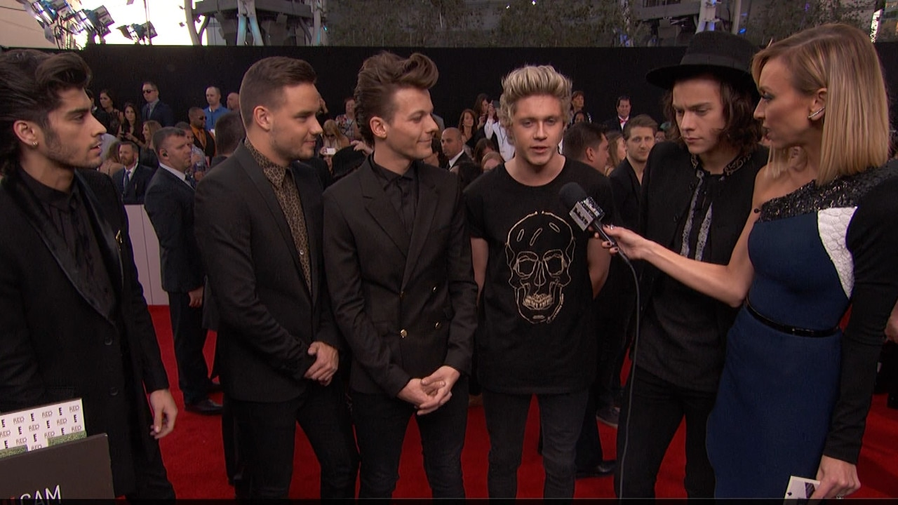 One Direction: At the AMAs (24.11.2013.) |One Direction Amas 2014