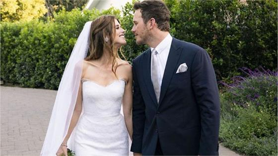 Chris Pratt marries Katherine Schwarzenegger in California wedding