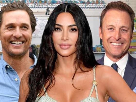 Kim Kardashian & More Celebrities Crash Students' Online Classes