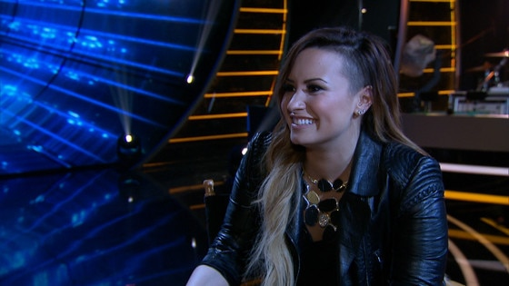Demi Lovato Sits Down With Ryan Seacrest