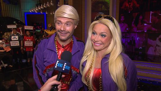 Kelly Ankelly And Ryan 2020 Halloween Costumescostumes Ryan Seacrest Applauds Kelly Ripa's 217th Halloween Costume   E