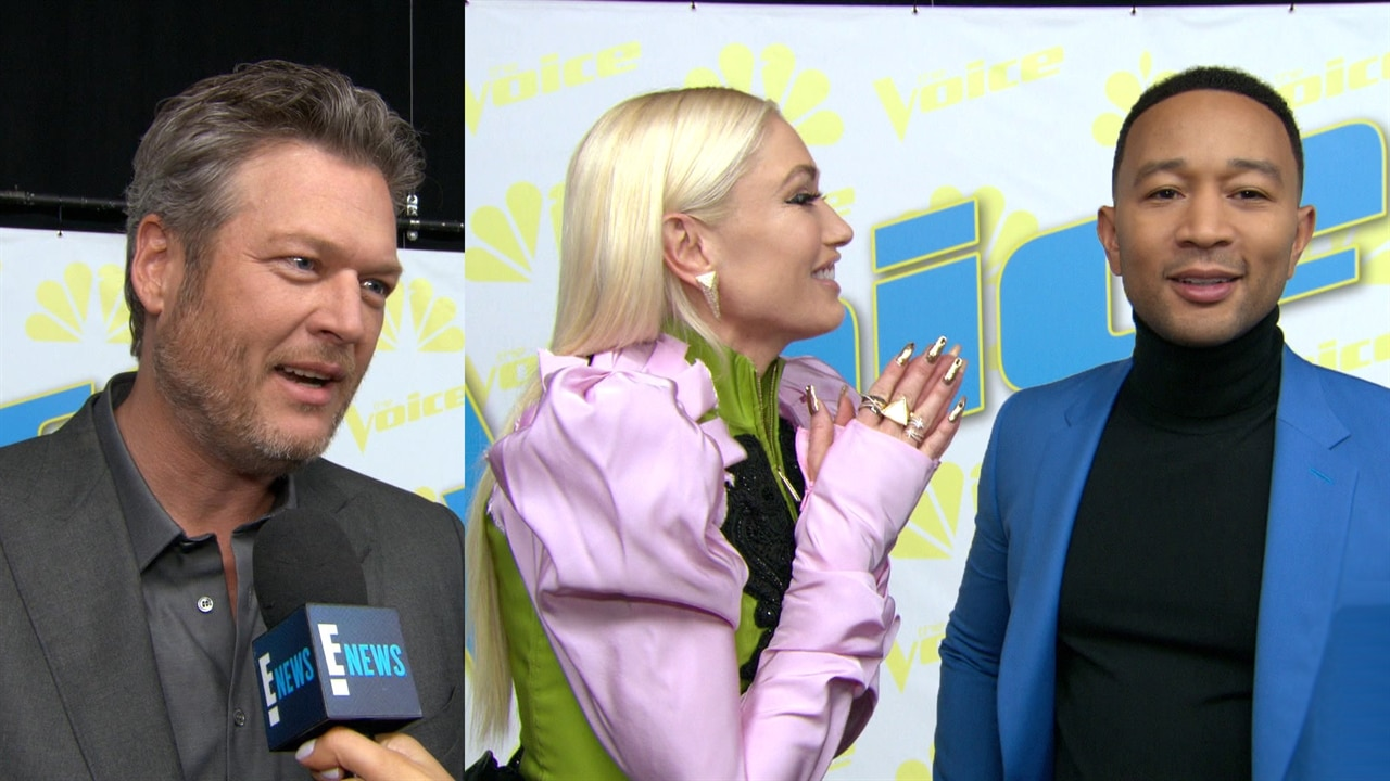 Blake Shelton and Gwen's Stefani Chaotic Holiday Traditions Are a Sweet Escape