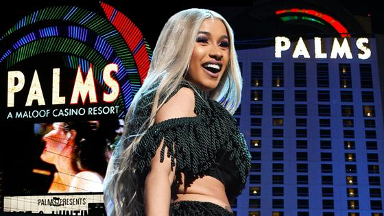 Cardi B Announces Las Vegas Residency at Palms Casino!