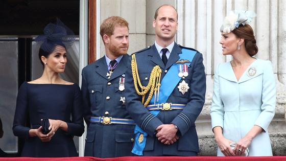 Meghan Markle & Prince Harry Unfollow William & Kate