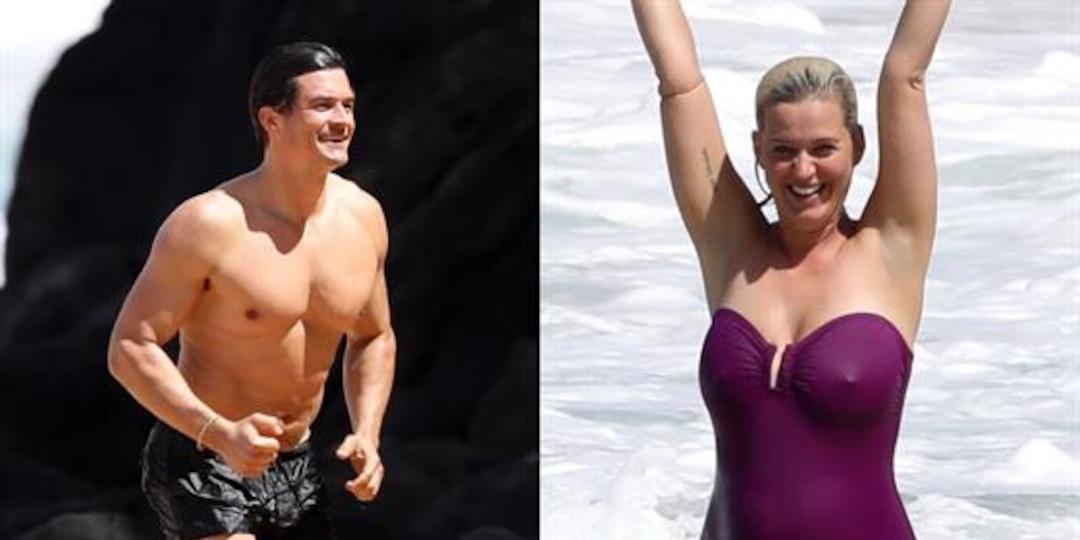 Katy Perry & Orlando Bloom's Family Beach Day in Hawaii - E! Online.jpg