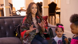 Kesha Norman Shocks Kierra Douglas During Daughter Playdate