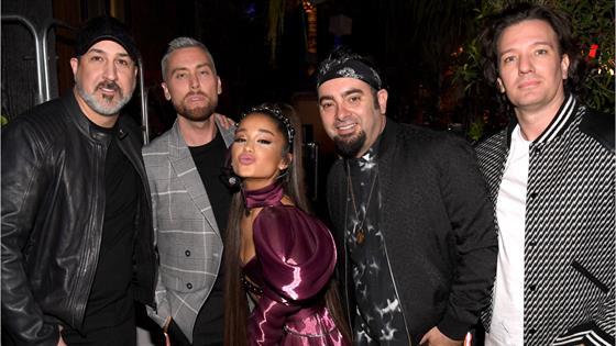 Justin Timberlake Reacts to Ariana Grande's NSYNC Performance