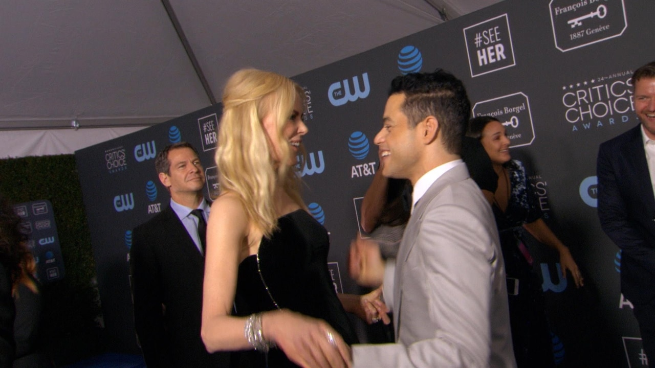 Rami Malek Reveals Adorable Reason He Would Relive Awkward Encounter With Nicole Kidman