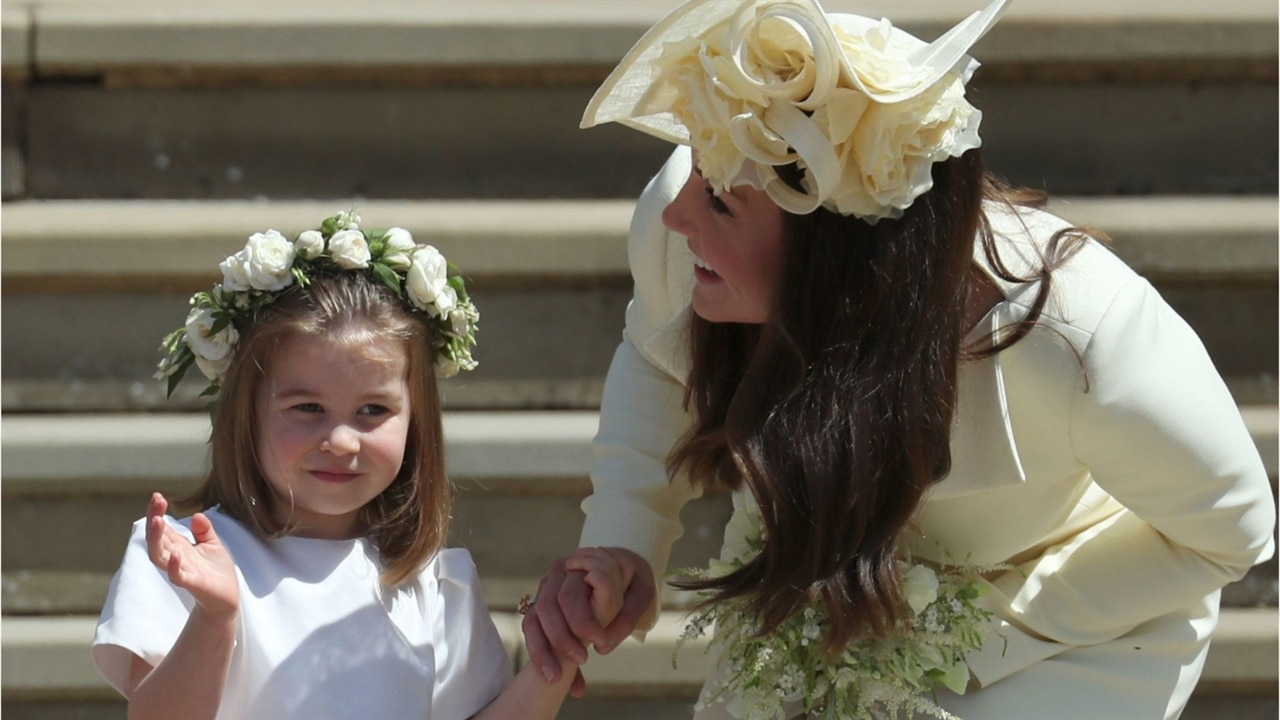 Princess Charlotte Throws a Tantrum in Public | E! News