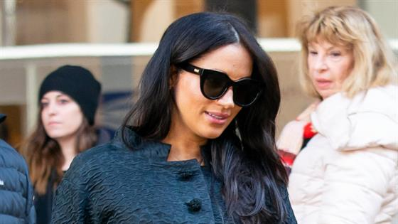 Meghan Markle Makes Secret Trip to NYC For Baby Shower