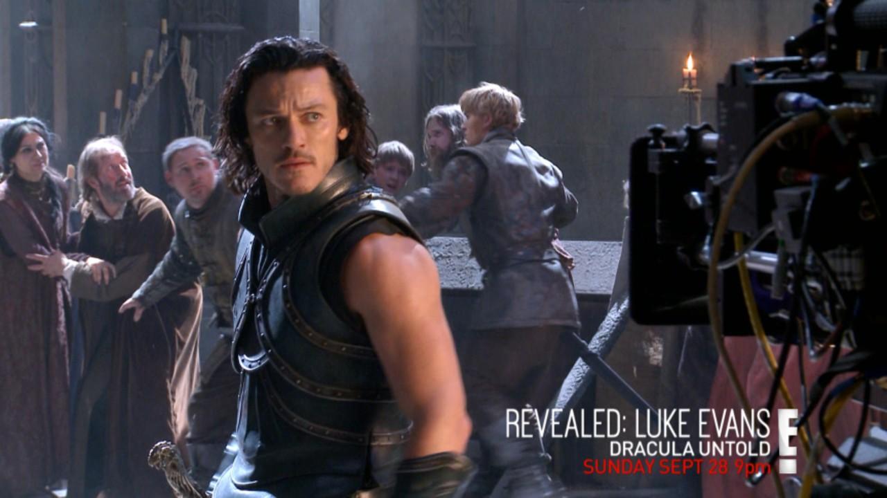 Revealed Luke Evans Dracula Untold E News Australia