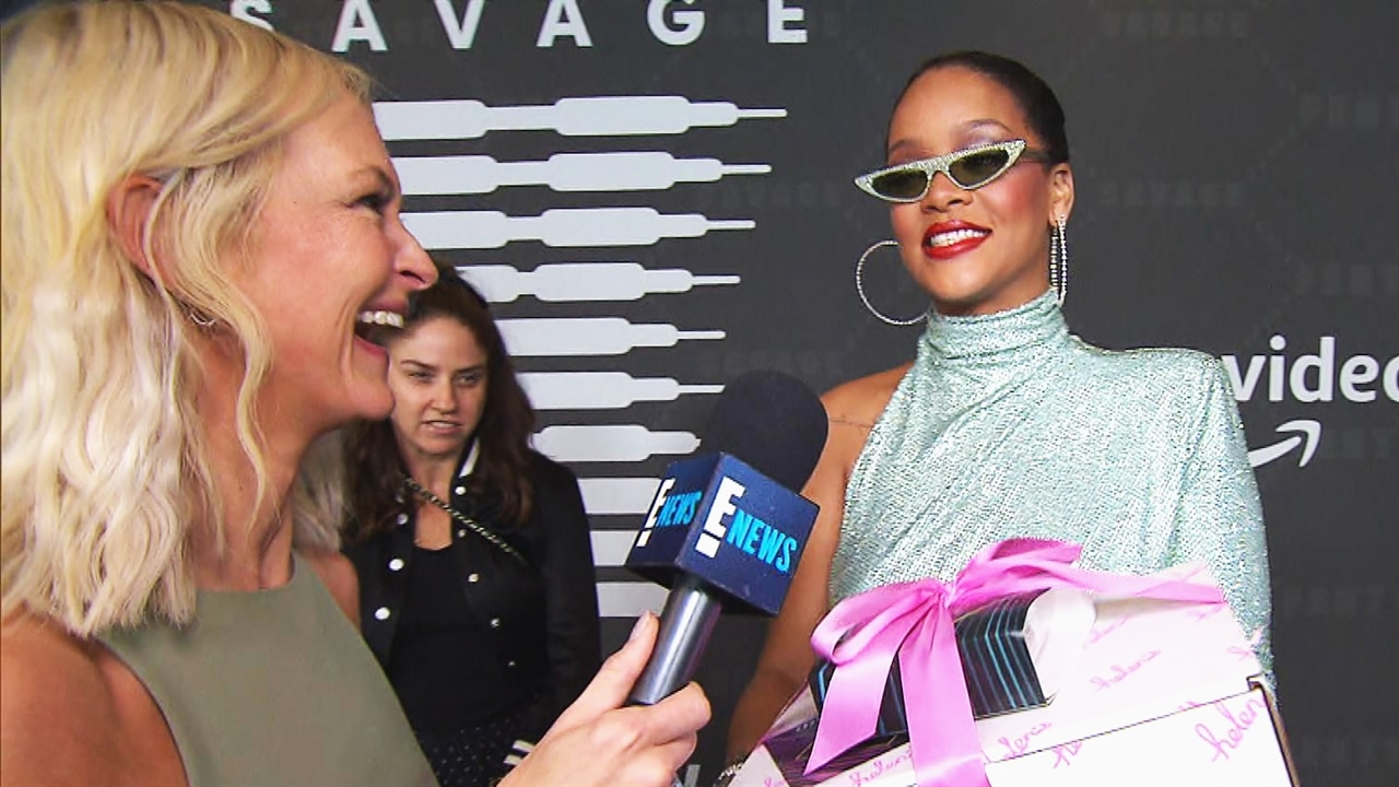 Rihanna Celebrating Her PCAs Nom Will Make You Smile