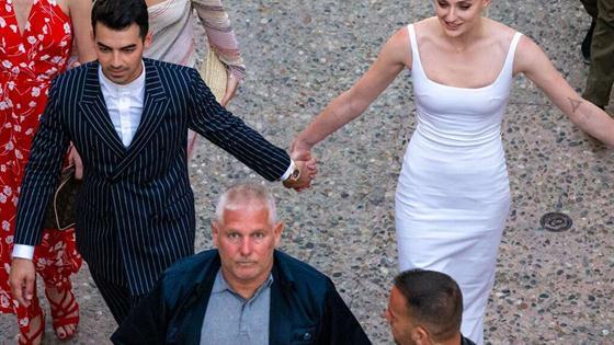 Ya está aquí la espectacular foto del vestido novia de Sophie Turner