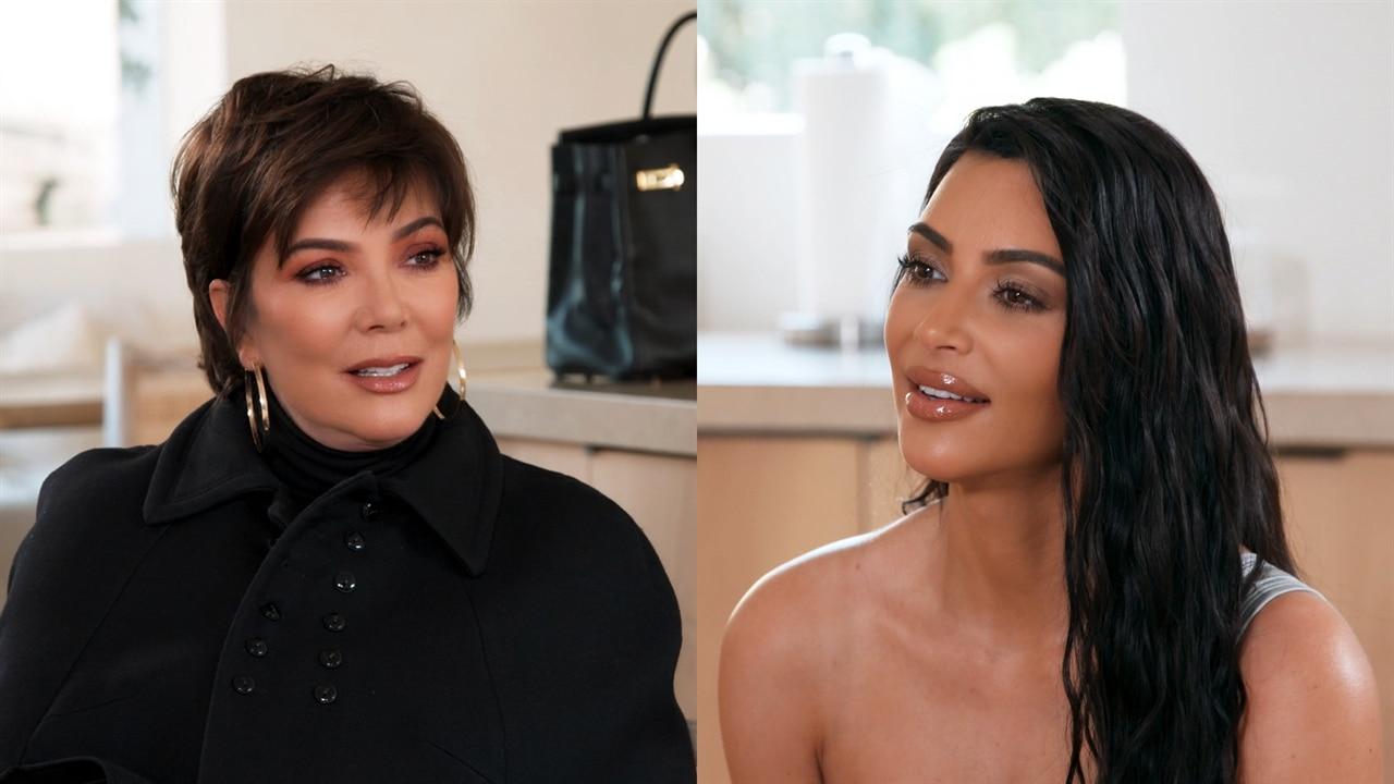 See Kris Jenner Burst Into Tears When Kim Kardashian Asks to Take Over the Family Christmas Party