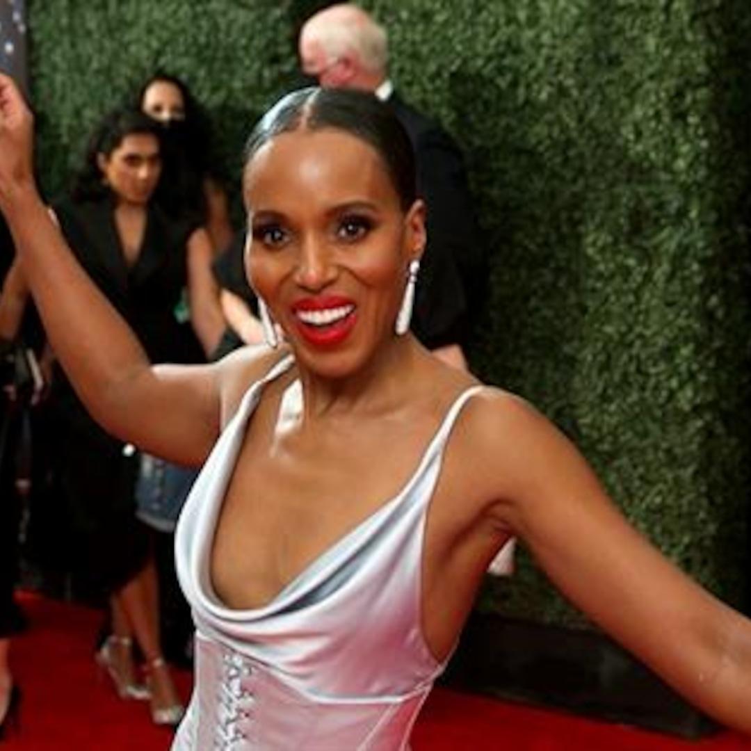 Kerry Washington GLAMBOT: Behind the Scenes at Emmys