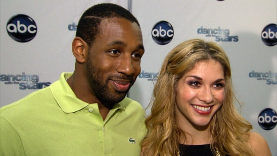 Pictures of romantic couples dating on dwts is allison