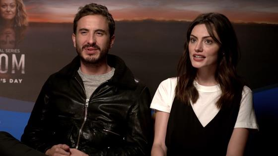 Phoebe Tonkin And Ryan Corr Share First Look At Bloom On The Hype