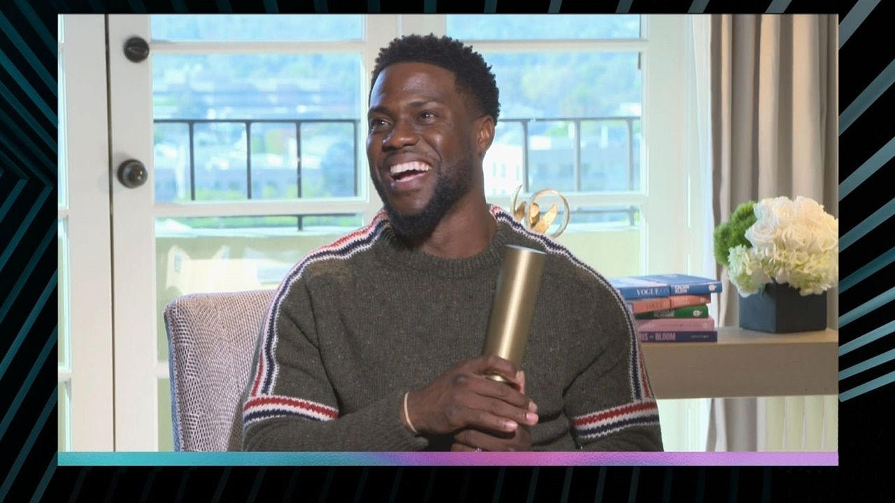 Kevin Hart Wins Comedy Act of 2018 at the E! People's Choice Awards