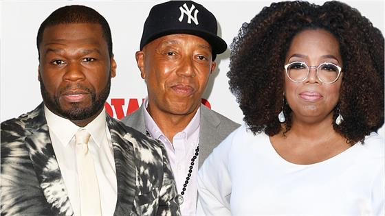 50 Cent and Russell Simmons Blast Oprah Over #MeToo Doc