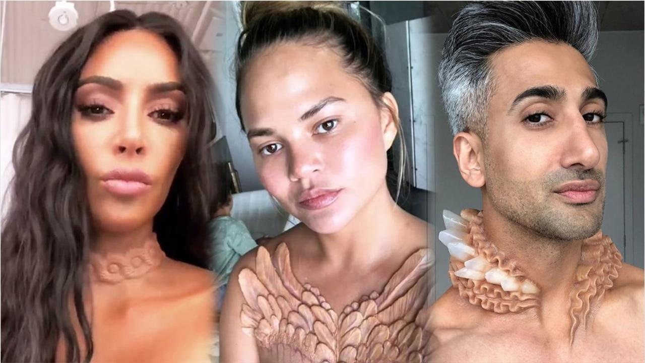 Kim Kardashian et d\u0027autres stars portent des bijoux seconde peau