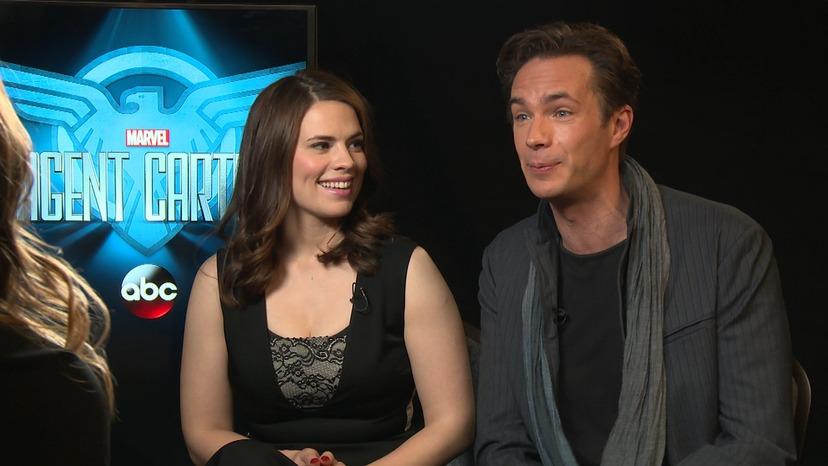 Girl Crush Alert Agent Carter Cast Talks Female Empowerment E Online