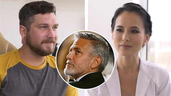 Dude With Stretched-Out Ears Wants George Clooney's Lobes! - E! Online