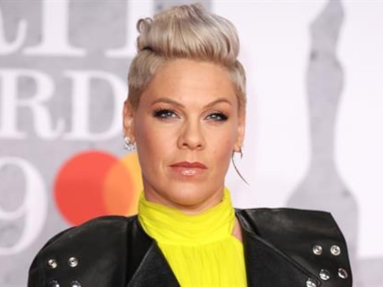 Pink Defends Photo of Kids Running in Holocaust Memorial