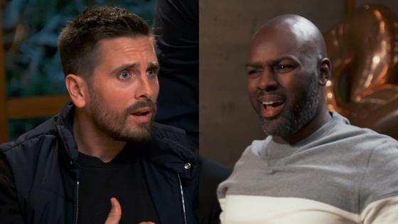 Scott Disick Blows Up at Corey for Saying He'd Whip Penelope's A--