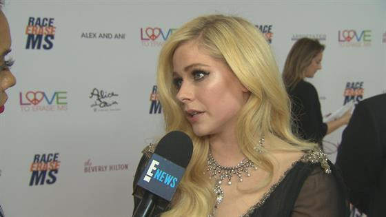 Avril Lavigne Talks Lyme Disease At Race To Erase Ms Gala