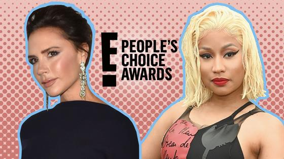 Nicki Minaj made 2 hilariously NSFW shoutouts during the People's Choice Awards