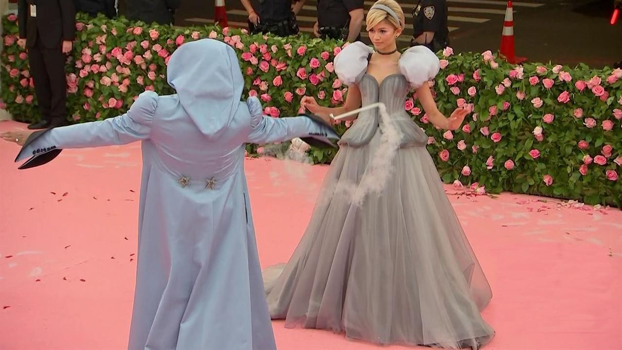 Lindsay Lohan Accuses Zendaya of Copying Claire Danes' Cinderella-Inspired Met Gala Gown
