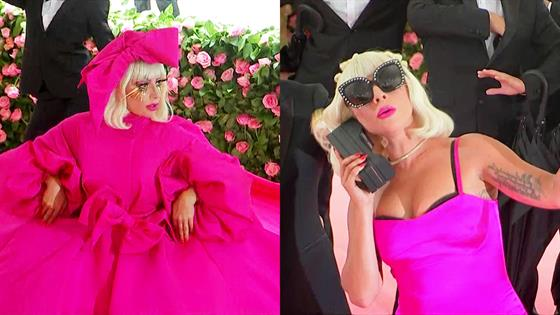 e71ccadc0f9 Lady Gaga Performs Dramatic Costume Changes on 2019 Met Gala Red Carpet