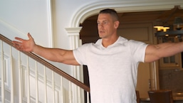 John Cena Gets Overly Excited for New Rug