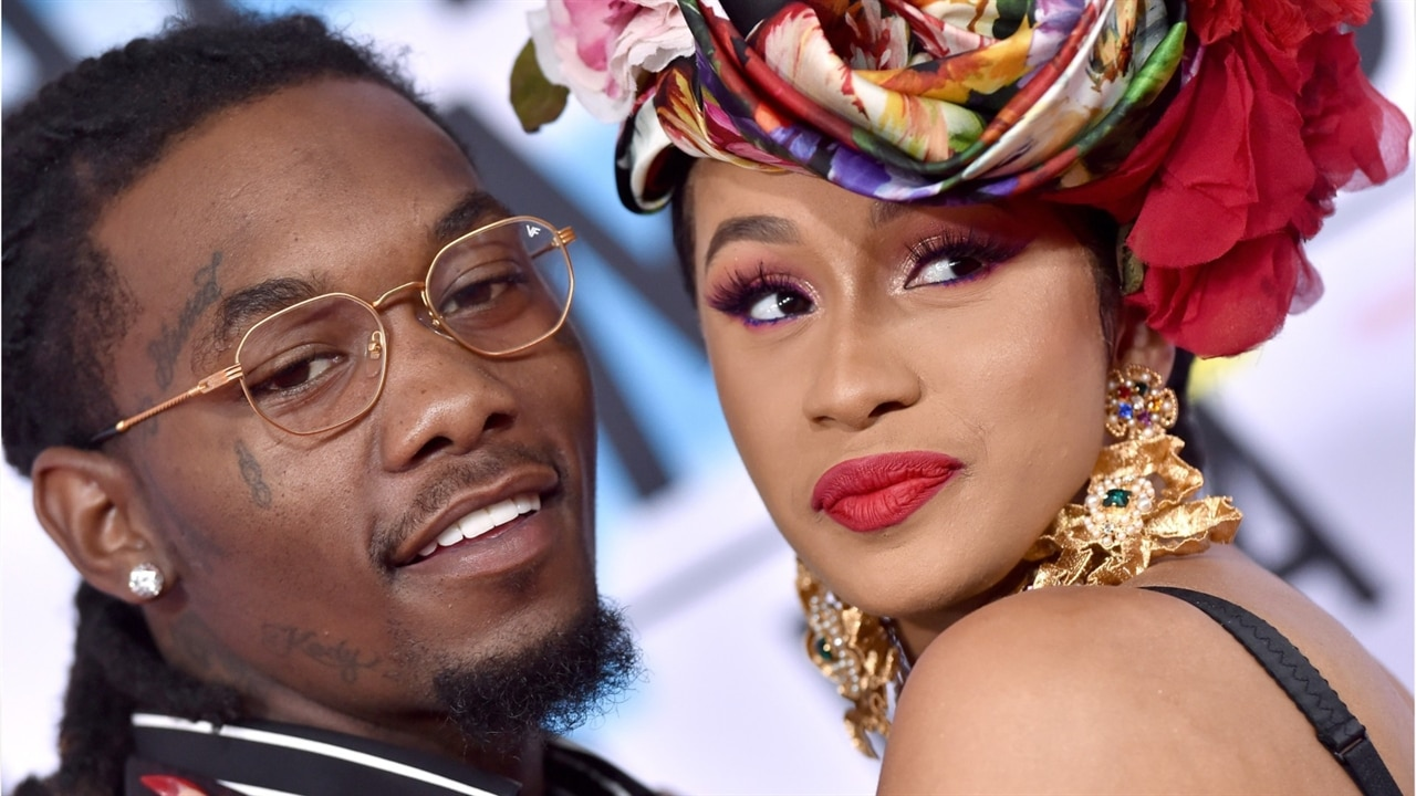 Offset Gets His Cardi B S Daughter S Name Tattooed On: Cardi B & Offset Pack On PDA On A Yacht