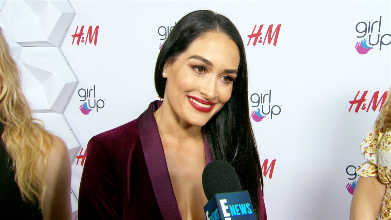 "Nikki Bella Says She Can Be Her ""Raw Self"" Around Boyfriend Artem Chigvintsev"