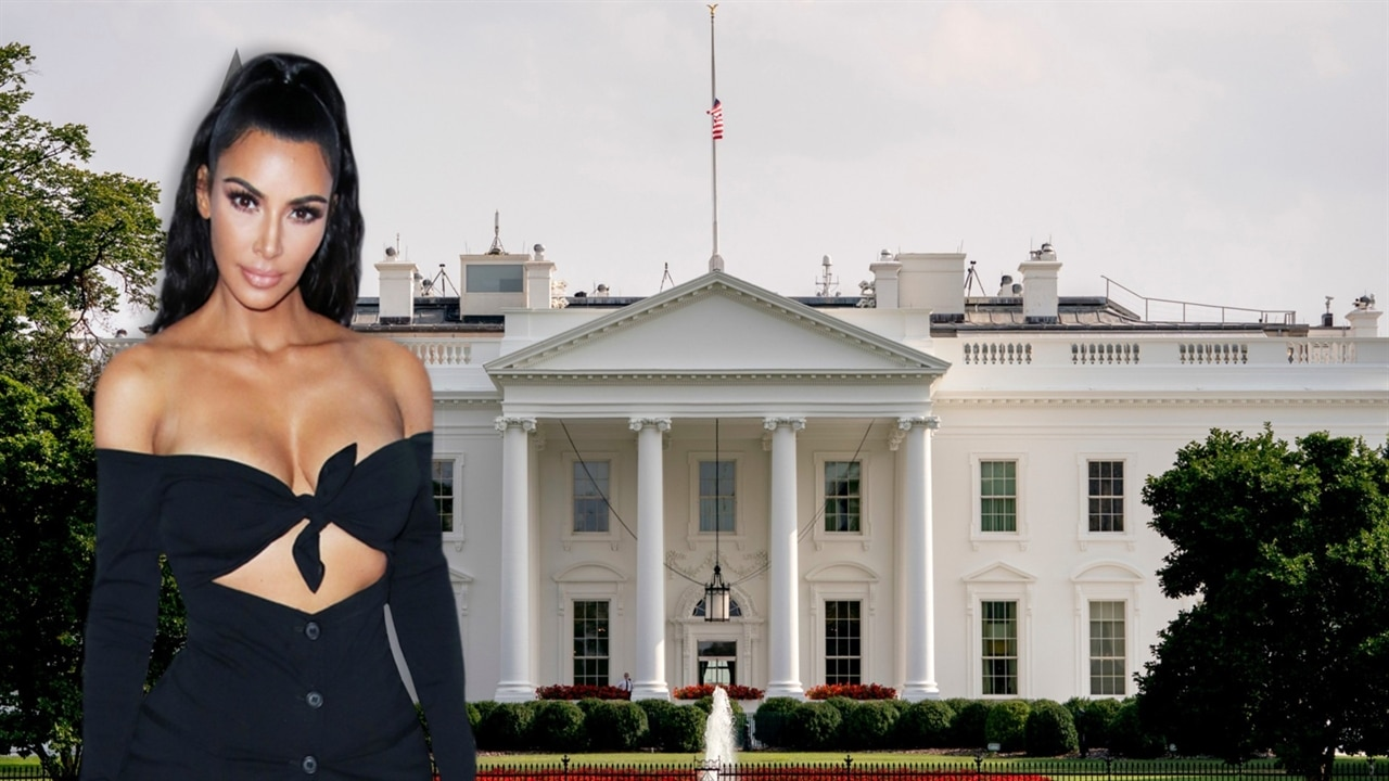 Kim kardashian returns to the white house e news for Www the house com returns