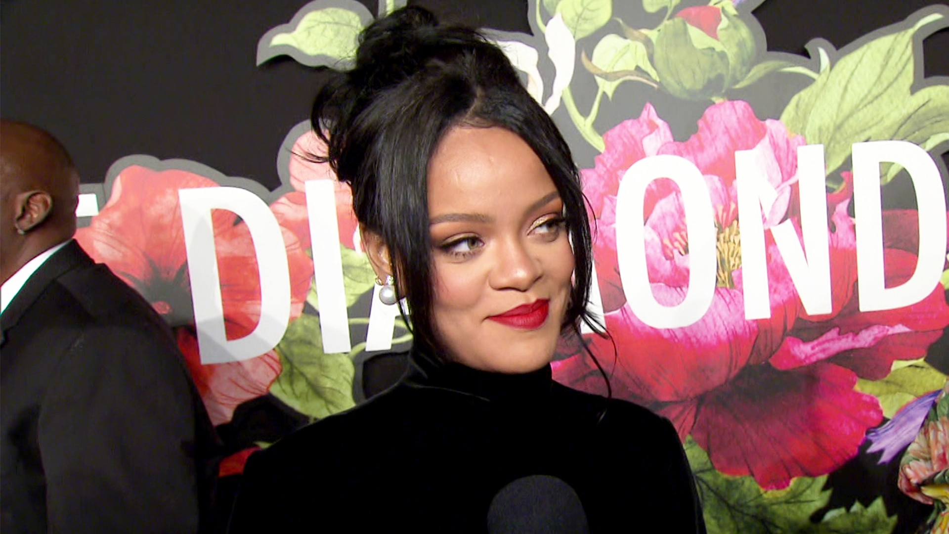 Rihanna Chokes Up Over Barbados Prime Minister's Touching Words