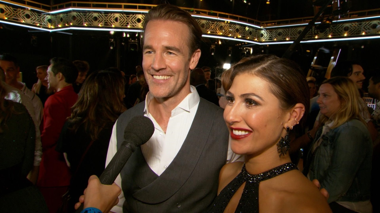 Dancing With the Stars' James Van Der Beek and Emma Slater Are Really Concerned About...Smelling