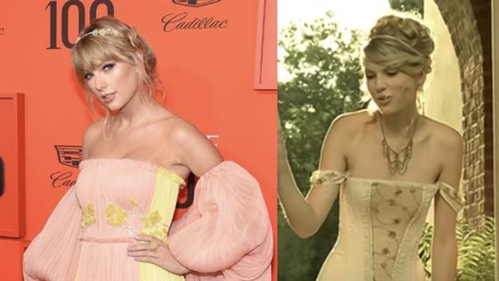 "Taylor Swift Channels ""Love Story"" Music Video at TIME 100 Gala"