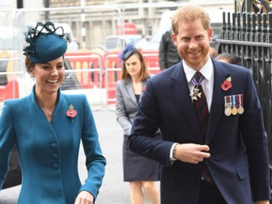 Prince Harry Steps Out With Kate Middleton