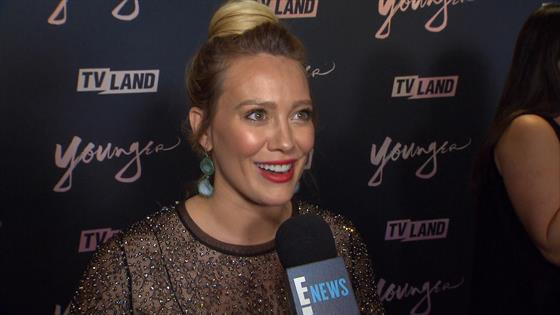 Sutton Foster & Hilary Duff Premiere 'Younger' After Season Six Renewal News