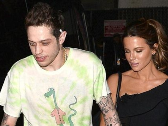 Pete Davidson & Kate Beckinsale Pack on PDA After Movie Premiere