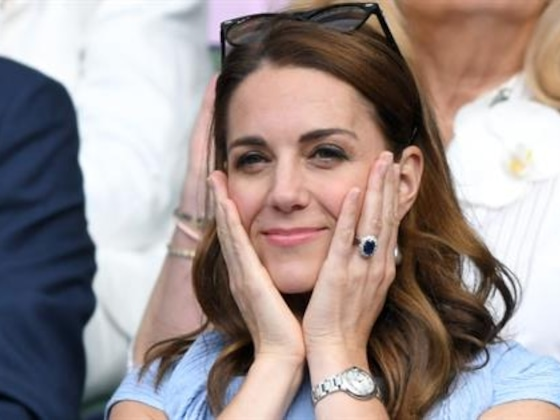 Kate Middleton's Many Facial Expressions Win Wimbledon