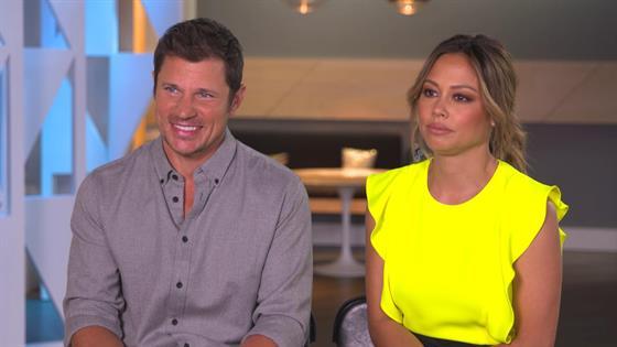 Nick & Vanessa Lachey Talk Hosting Miss USA Again