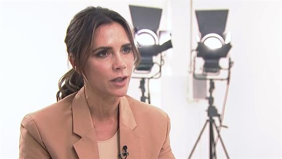 Victoria Beckham debuts at London Fashion Week